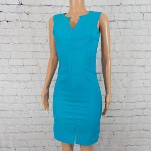 Rampage blue fitted dress